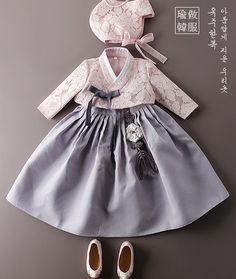 s Clothing Children' Korean Traditional Dress, Traditional Fashion, Traditional Dresses, Baby Girl Dress Patterns, Little Girl Dresses, Baby Dress, Korean Outfits, Kids Outfits, Korean Fashion