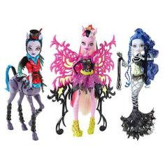 Monster High Doll Freaky Fusion Set of 3 New Release *Preorder/Presale*