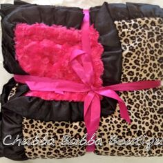 Baby girl blanket. I want this in adult size! Cute!