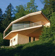 Irgendwie Gefallen Mir Die Schindeln Grad Sehr! HolzverschalungHolzbauModerne  HäuserArchitekturModerne ...