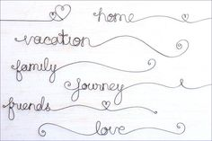 Personalized Scrapbook Wire Words Personalized by kraze4paper