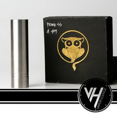 Prime Tarsius Customs Stainless Steel Vape Mod Prime Tarsius Customs Stainless Steel is the newest mod from Tarsius Customs that takes their popular 4Nine mod to a new level and takes out the bottom magnet button and adds a locking ring and spring loaded button. TheStainless Steel Prime Modis a great innovative design to the 4Nine mod and gives the security of a locking ring for security and misfiring. ThePrime Tarsius Customs Stainless Steel has the same hybrid direct to atty top cap…