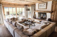 Chalet Chic, Chalet Style, Chalet Design, House Design, Norway House, Zen Interiors, Modern Interior, Interior Design, Log Homes