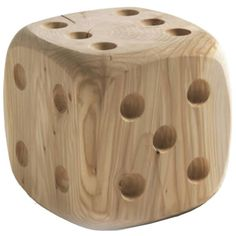 For Sale on - Stool dice in natural solid cedar wood, price: available in big, L 35 x D 35 x H price: Woodworking Projects Diy, Woodworking Furniture, Fine Woodworking, Welding Projects, Cedar Wood For Sale, Furniture Projects, Wood Furniture, Furniture Movers, Furniture Online