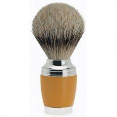 Shave Brush Silver-tip Orange Resin Shaving Brush, Wet Shaving, Cigar Shops, Writing Instruments, Silver Color, Resin, Natural Hair Styles, Badger, Photography