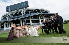 Penn State wedding picture ideas