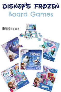 Indoor Family Winter Fun with Disney's FROZEN Board Games: You already have the movie, but now it's time to grab these Disney's FROZEN Board Games For Kids! Get ready for the holidays with our favorite picks!