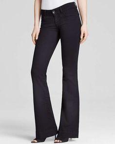 J Brand Jeans - Bloomingdale's Exclusive Love Story Flare in Vanity $228 #SilkScarf