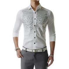 Buy 'TheLees – Beaded-Front Shirt'