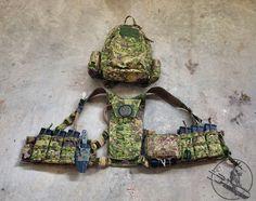 TEOTWAWKI Blog: Carbine Chest Rig in PenCott Greenzone