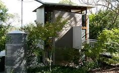 Paul Richard House: A Small Hillside Tower - Small Houses Great Smoky Mountains, Living Area, My House, Building A House, Minimalism, Home And Family, Shed, Tower, Real Estate
