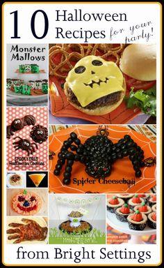10 Halloween Themed Party Recipes