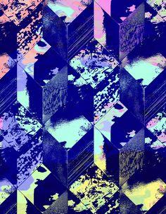glow in the dark Textile Patterns, Textile Prints, Print Patterns, Style Patterns, Illustrations, Illustration Art, Surface Design, Design Art, Graphic Design