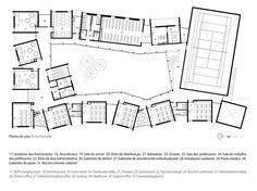 Sobrosa School,First Floor Plan