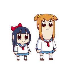 Disturbing | Pop Team Epic | Know Your Meme