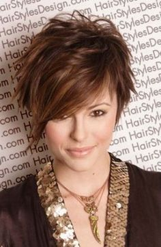 Tagli capelli corti spettinati