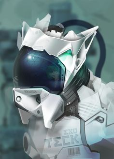 EXO TECK    Nice concept robot, would look good in a game..!