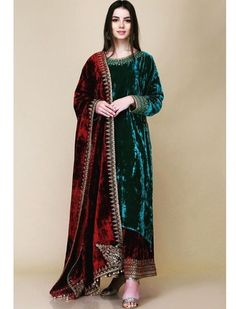 The Velvet Effect. Vibrant and new collection by for winters, now available at South Extension store. ✨ Shop Now. Pakistani Bridal Dresses, Pakistani Dress Design, Pakistani Outfits, Indian Dresses, Indian Outfits, Designer Party Wear Dresses, Kurti Designs Party Wear, Indian Designer Outfits, Party Dresses