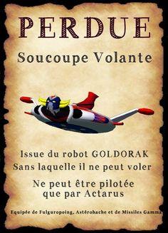 affiche goldorak                                                                                                                                                                                 Plus