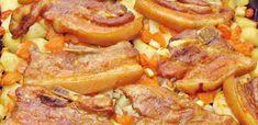 15 szaftos tepsis hús, amitől mind a 10 ujjad megnyalod - Receptneked.hu - Kipróbált receptek képekkel Meat Recipes, Cake Recipes, Green Eggs And Ham, Hungarian Recipes, Potato Dishes, Food 52, Pot Roast, Sausage, Bacon