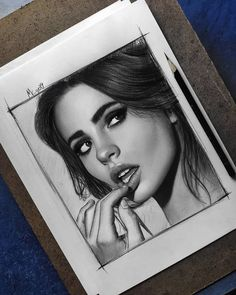 Pencil Art Drawings, Art Drawings Sketches, Cool Drawings, Realistic Face Drawing, Realistic Sketch, Portrait Sketches, Pencil Portrait, Clock Tattoo Sleeve, Eyebrows Sketch
