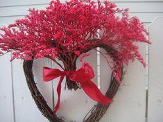 Items similar to Heart Wreath Valentine Wreath Valentine Gift Wedding Wreath Anniversary Wreath Dried Wreath Wreath on Etsy Funny Valentine, Roses Valentine, Valentine Wreath, Valentine Gifts, Valentine Heart, Printable Valentine, Homemade Valentines, Valentine Ideas, Twig Wreath