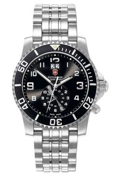 The Best Men's Watches Under $500: Victorinox Swiss Army 'Maverick II' Two Time Zone Watch