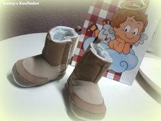 Baby Bag mit beigen  BOOTS Stiefel 12 Monate GESCHENKTASCHE Engel NEU ohne OVP