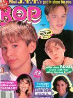 Bop Magazine - JTT, Devon Sawa, Brad Renfro and Andrew Keegan.