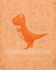 Tyrannosaurus Rex by TheFoxandTheTeacup
