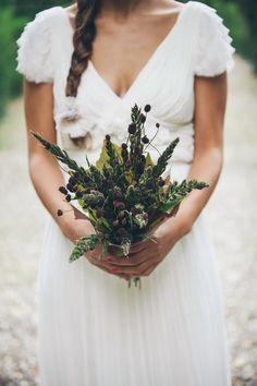 Bouquet de mariée printemps - Photo: EnneFoto - Fleurs: Sara Cattaneo Lab