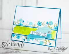 Hello friends, and welcome to Canada for this stop on the Stampin' Up! International Artisan Design Team blog hop! It is a VERY important ...