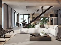50 Shades of Grey Rooms Modern living rooms Modern living and