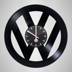 Volkswagen Handmade Vinyl Record Wall Clock - VINYL CLOCKS