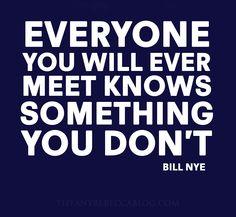 Learn something new everyday! -MAH aka  My Daddy