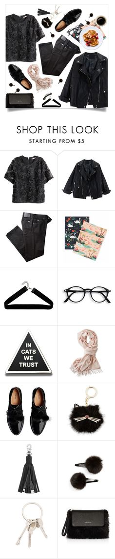 """Sweet as Pie"" by brynhawbaker ❤ liked on Polyvore featuring H&M, BRAX, Rifle Paper Co, Boohoo, Mark & Graham, Kate Spade, Belkin, Topshop, Givenchy and Karen Millen"