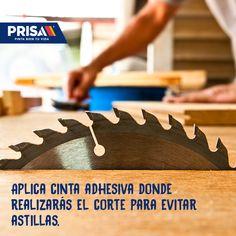 Protege tu corte al trabajar con madera.