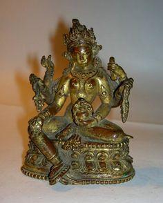 Vasudhara. Nepal, 17th century. Gilded bronze. London, British Museum.
