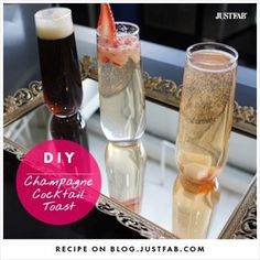 DIY #champagne #cocktails