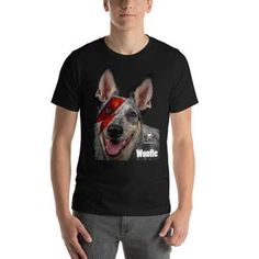 Bowie, Lion, Elephant, Cat, Hoodies, Mens Tops, T Shirt, How To Wear, Stuff To Buy
