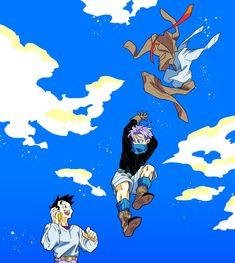Dragon Ball Gt, Snow Dragon, Vegeta And Bulma, Goku, Otaku Anime, Manga Anime, Goten Y Trunks, Fanart, Bulletproof Boy Scouts
