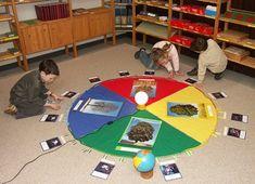 Montessori geography Seasons / estaciones