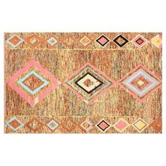 """Check out this item at One Kings Lane! 7'6""""x9'6"""" Nori Rug, Multi"""