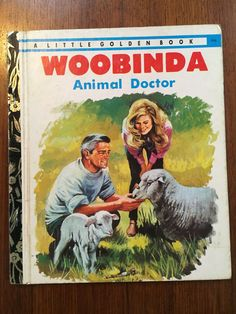 Woobinda Animal Doctor 1973 Little Golden Book LGB by Victor Barnes  Illustrated by Walter Stacypool Vintage 1970s Australian LGB by weseatree on Etsy