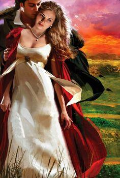 The runaway duchess. Historical romance cover art by Jon Paul.