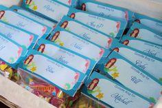Mermaid Mania 5th birthday | CatchMyParty.com