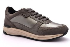 GEOX U62X2D 01022 C1018 SMART D CANVAS SUEDE DOVE GREY | Fango