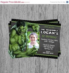 ON SALE The Incredible Hulk Custom by LastingMomentsDesign on Etsy