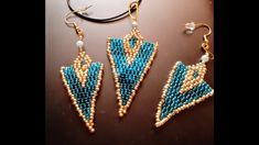INDIAN STYLE EARRINGS Indian Style, Indian Fashion, Beaded Bracelets, Drop Earrings, Make It Yourself, Boho, Sewing, Jewelry, Dressmaking