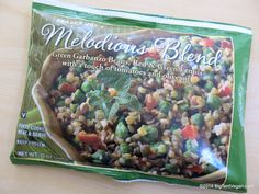 Melodius Blend (green garbanzo beans, red & green lentils with a touch of tomato and olive oil) #vegan